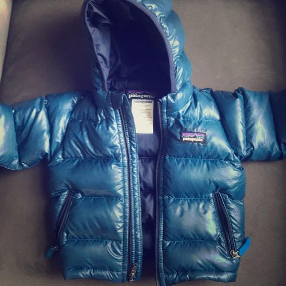 f24c69aee Patagonia Baby Hi-Loft Down Sweater Hoody. M_5b76bb78c2e88e6db2877e89